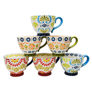 Artisan Hand-Painted Mugs