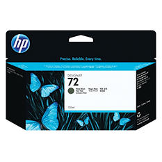 HP 72 Original Ink Cartridge, Matte Black