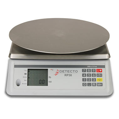 Detecto Round Cake Decorating/Ingredient Scale