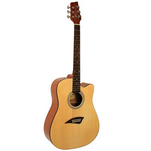 Kona Dreadnought Acoustic Guitar with High Gloss Finish Spruce Top