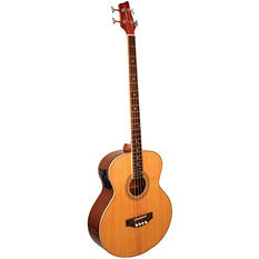 Kona Signature Series Electric Acoustic Bass with Gig Bag