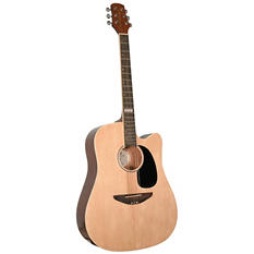 Trinity River Outlaw Cutaway Acoustic Dreadnought Guitar