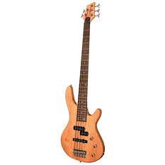 Kona 5 String Electric Bass in Natural Gloss Wood Finish