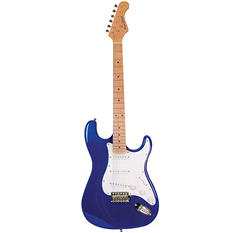 Main Street Double Cutaway Electric Guitar with Blue Laminated body