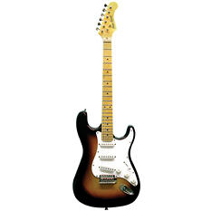 Main Street Double Cutaway Electric Guitar in Tobacco Sunburst