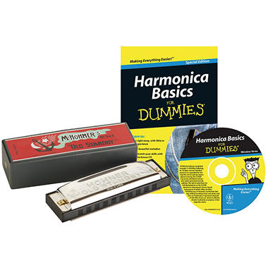 Harmonica For Dummies Starter Package