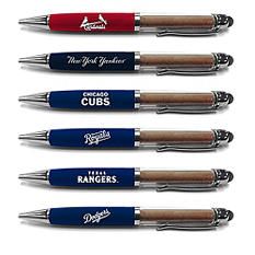 MLB Executive Pen with Authentic Field Dirt - Choose Team