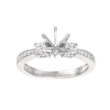 .32 ct. t.w. Diamond Setting - 6 prong (I, I1)