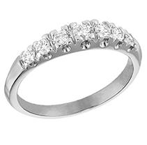 Click here for .46 ct. t.w. Diamond Wedding Band (I, SI2) prices
