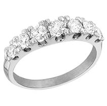 Click here for 1 ct. t.w. Diamond Wedding Band (I, SI2) prices