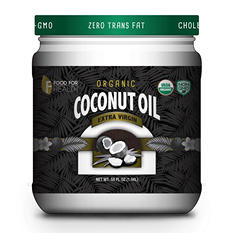Food for Health Organic Extra Virgin Coconut Oil (56 oz.)