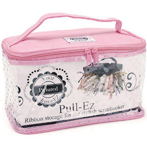 Pull EZ Ribbon Purse-Pink
