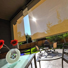 Tropic Bahama Corded Solar Shade