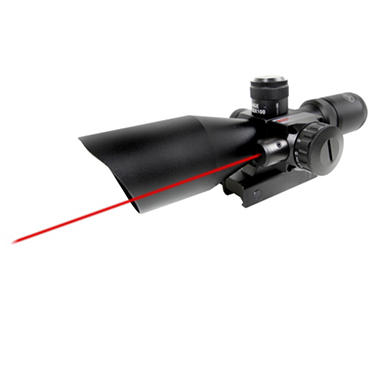 Firefield 2.5-10 x 40 Riflescope w/Red Laser