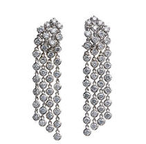 4.92 ct. t.w. Diamond Drop Earrings (HI, I1)