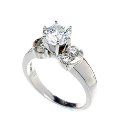 1.00 ct. t.w. Diamond Engagement Ring (H-I, I1) - Sam's Club