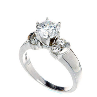1.00 ct. t.w. Diamond Bridal Ring (H-I, I1)