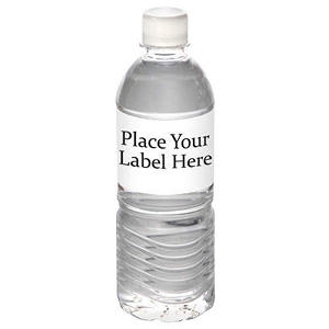 Custom Labeled Natural Spring Water Pallet (12 oz. bottle, Choose 1, 5, 10, or 22 Pallets)