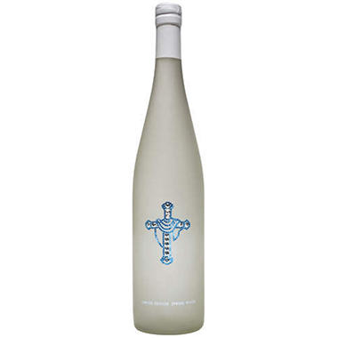 Keepsake Cross Bottled Water w/Crystals