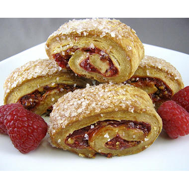 Art Dessert Raspberry Walnut Rugala (28 oz.)