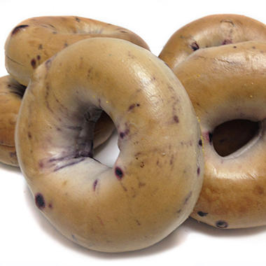 Atlanta Bread Blueberry Sliced Bagels - 6 ct.