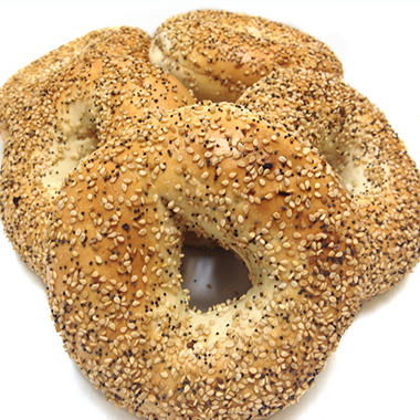 Atlanta Bread Everything Sliced Bagels - 6 ct.