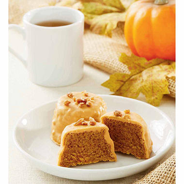 Daily Chef Pumpkin Tea Cakes (24 ct., 1 oz. ea.) - Sam's Club