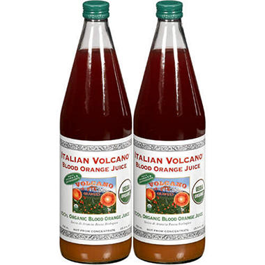 Italian Volcano® Blood Orange Juice - 2/25.3oz