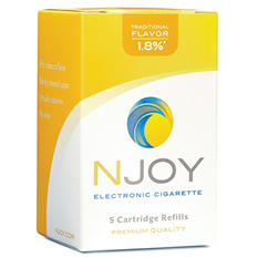 Njoy Traditional 1.8% Cartridge Refill