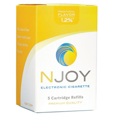 Njoy Traditional 1.2% E-Cigarette Cartridge Refill