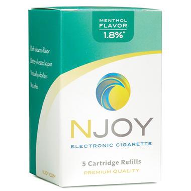 Njoy Menthol 1.8% Cartridge Refill