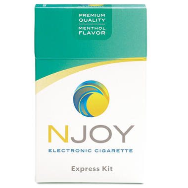Njoy Rechargeable Menthol Express Kit