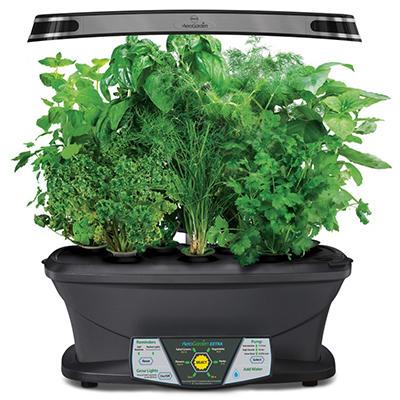 Miracle-Gro AeroGarden Extra LED with Gourmet Herb Seed Kit and Bonus Cherry Tomato Seed Pod Kit