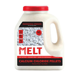 10 lb. MELT Professional Strength Calcium Chloride Pellets Ice Melter Jug
