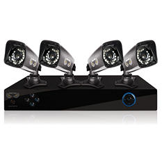 Night Owl 8 Channel 960H Security System with 1TB Hard Drive, 4 700TVL Indoor/Outdoor Cameras, 75' Night Vision