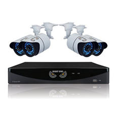 Night Owl 8 Channel 960H Security System with 1TB Hard Drive, 4 900TVL Bullet Cameras, and 100' Night Vision