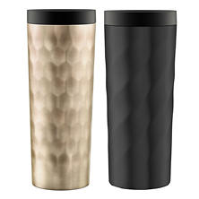 Ello Hammertime Stainless-Steel Travel Mugs (2 pack)
