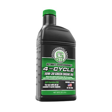 Green Earth Technologies 10W-30 4-Cycle Motor Oil  - 18 oz.