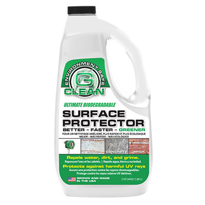 Green Earth G-Seal Pressure Washer Surface Protectant Spray - 64 oz.