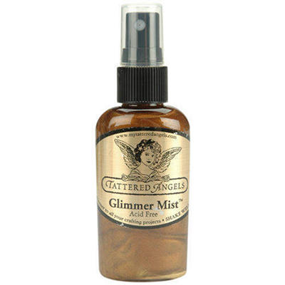Glimmer Mist 2oz-Walnut Gold Metallic