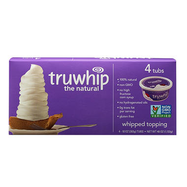 Truwhip Topping (10 oz. tub, 4 ct.)