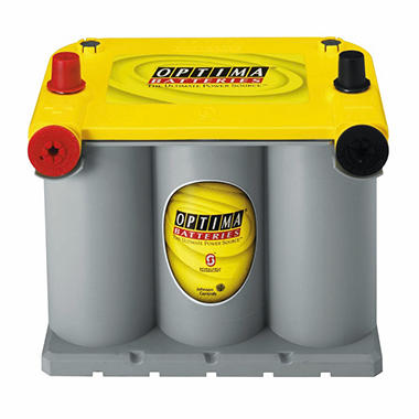 OPTIMA® 12 Volt YellowTop® Dual Purpose Starting and Deep Cycle Battery - Group Size 75/25