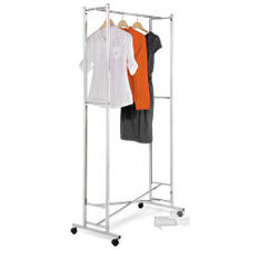 Honey-Can-Do Folding Chrome Garment Rack