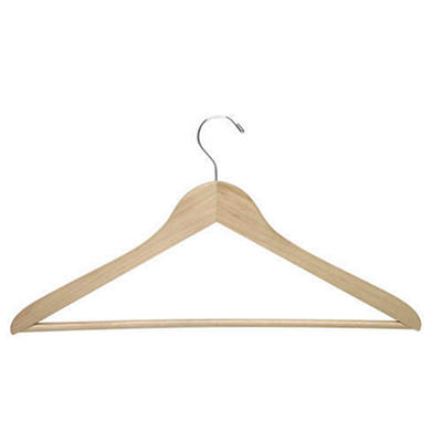 Maple Finish Wooden Hangers - 24 pk.