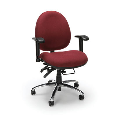 24-Hour Big & Tall Chair - Burgundy