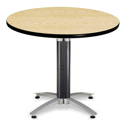 Round Multi-Purpose Table - Metal Base - Various Sizes and Colors