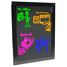 "Luma Vue LED Marker Board - 18"" x 24"""