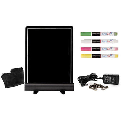 "Luma Vue LED Erasable Marker Board (22"" x 18"")"