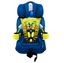 KidsEmbrace Friendship Combination Booster Car Seat, Spongebob