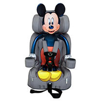 KidsEmbrace Friendship Booster Car Seat, Mickey Mouse